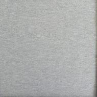 Baumwolljersey-Stretch hellgrau