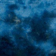 Soft-Teddy Batik jeansblau