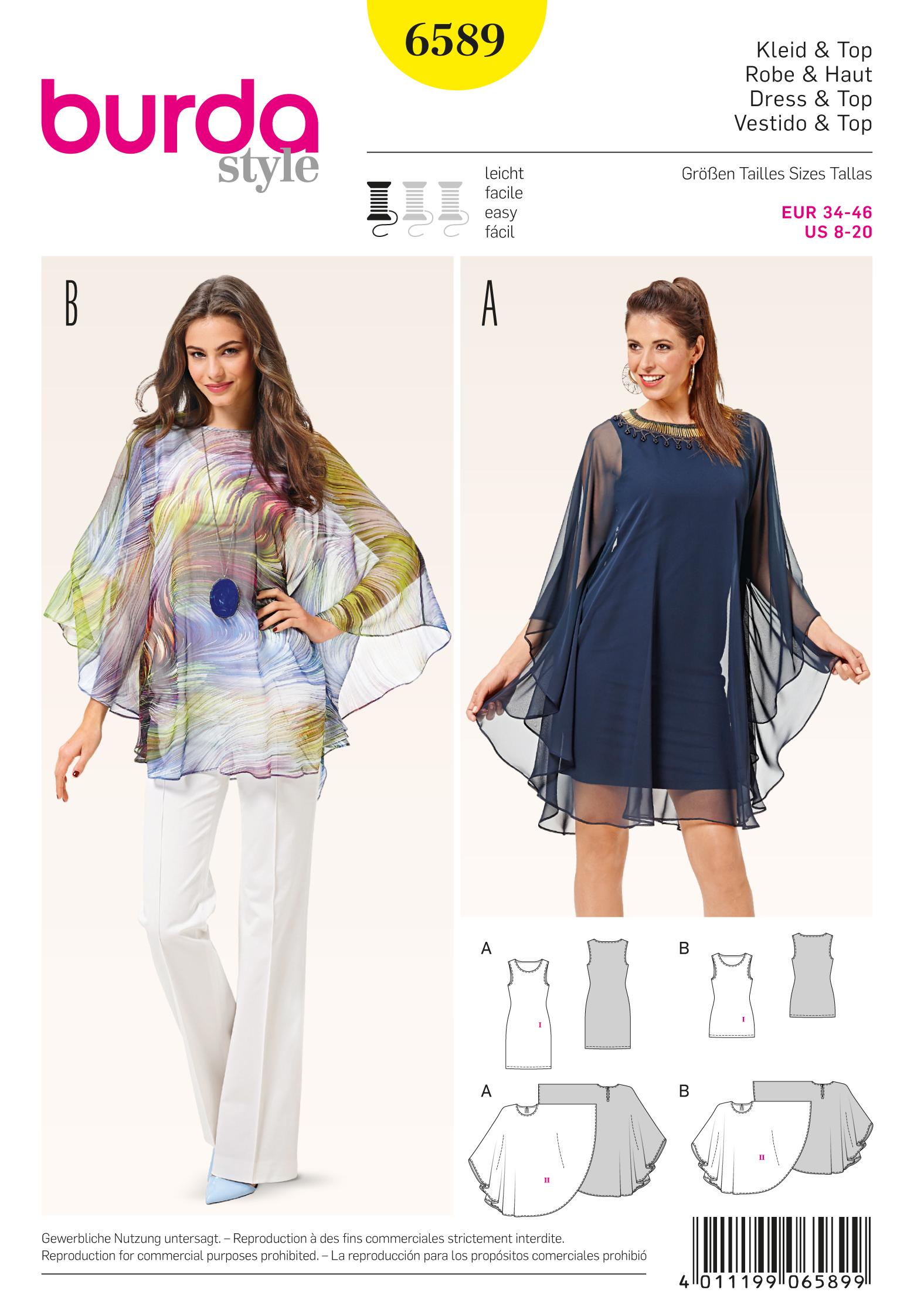 Schnittmuster Kleid und Tunika – Stoffzentrale AG