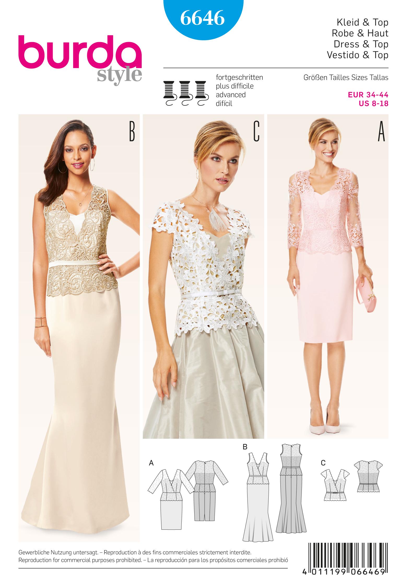 Schnittmuster Kleid Top – Stoffzentrale AG