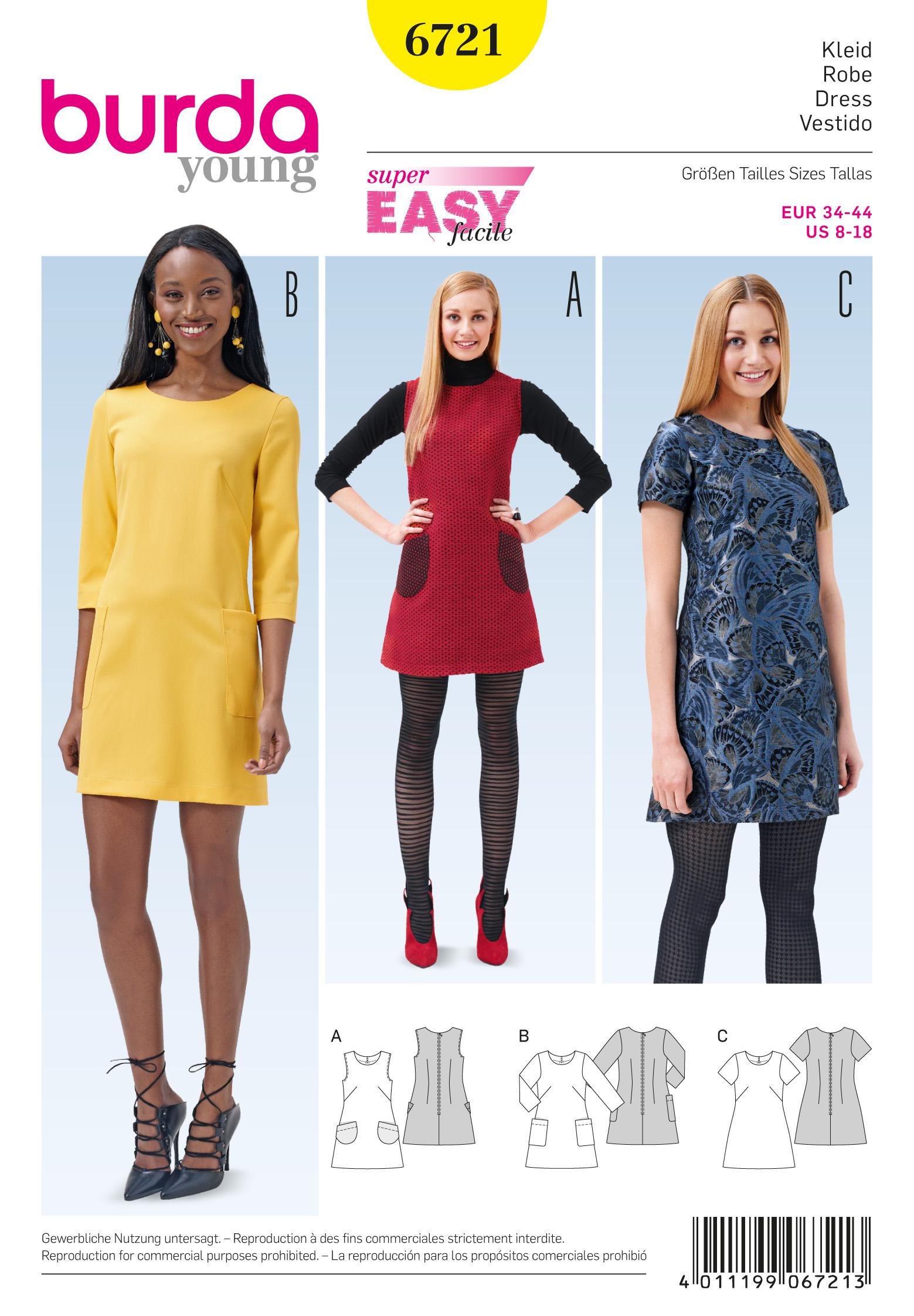 Schnittmuster Kleid – Stoffzentrale AG