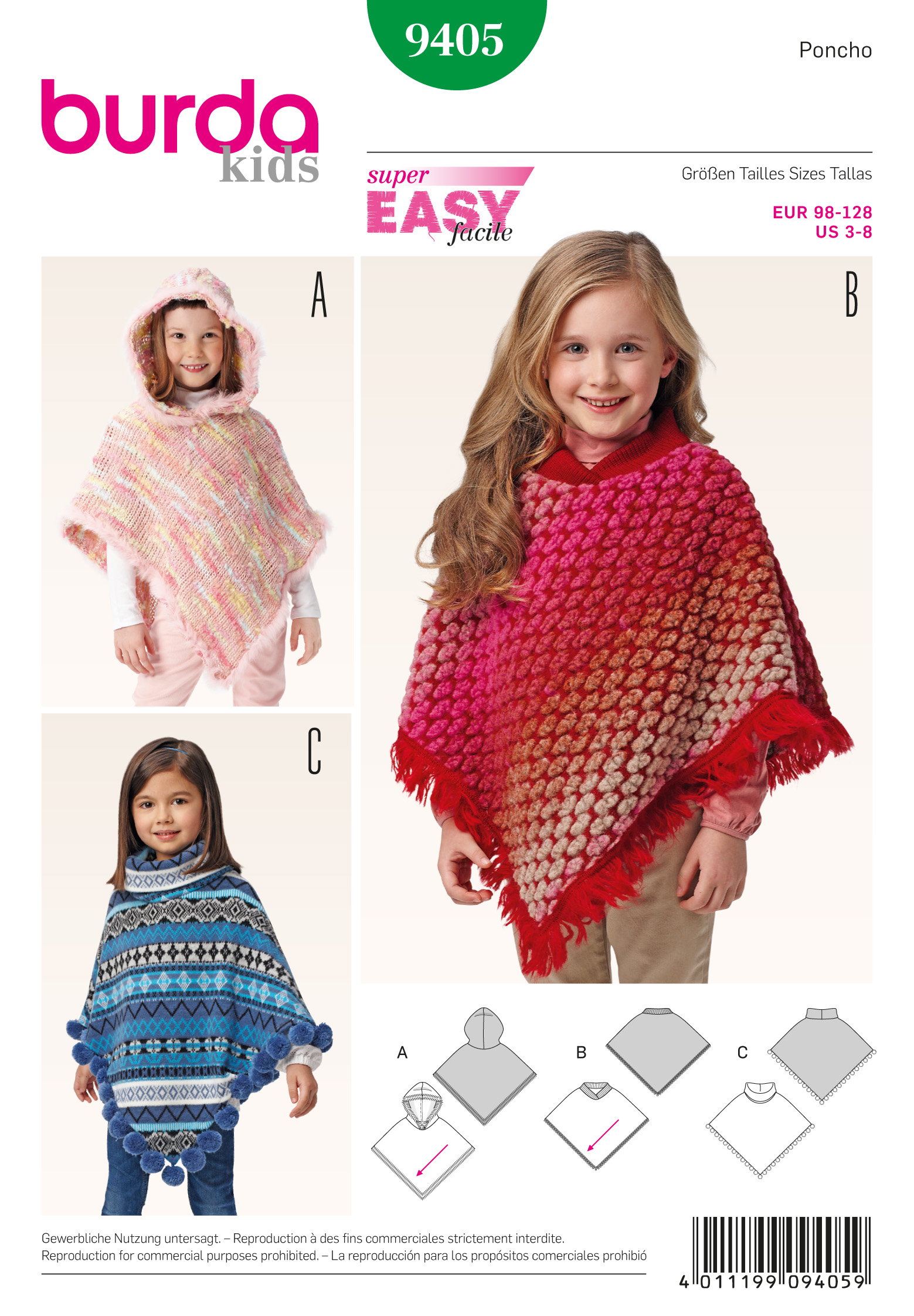 Schnittmuster Poncho – Stoffzentrale AG