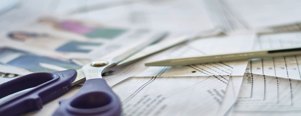 Schnittmuster - Stoffe kaufen auch online – Stoffzentrale AG